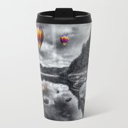 Above The Lake Travel Mug