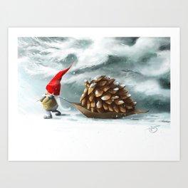 Christmas Treat Art Print