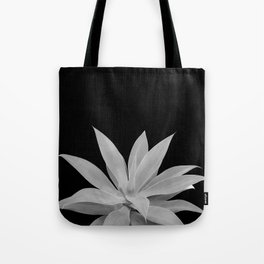 Black Gray Agave Vibes #1 #tropical #decor #art #society6 Tote Bag
