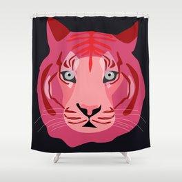 pink tiger Shower Curtain