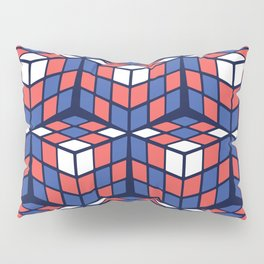 cascade - red/white/blue Pillow Sham