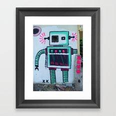 Mr. Roboto Framed Art Print