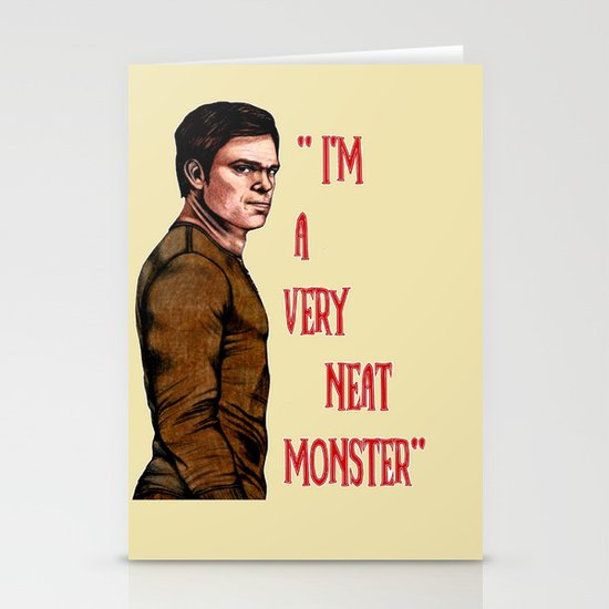 Dexter Morgan Stationery Cards