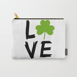 Love St Patricks Day Carry-All Pouch