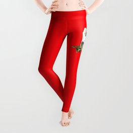 Best Christmas Wishes from the Beast Leggings