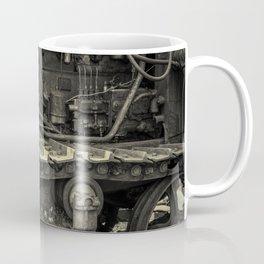 Tracks of the Warped Earth Mover Coffee Mug