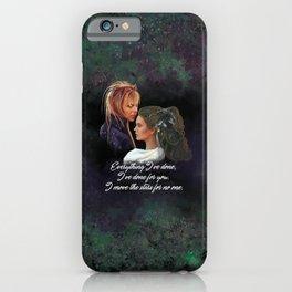 Sara and Jared iPhone Case
