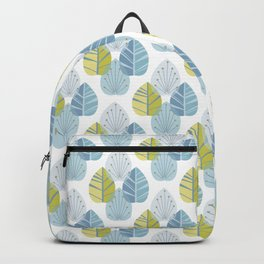Mid-Century Modern Leaves Backpack