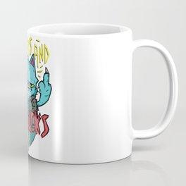 Nine Live No Fucks Coffee Mug