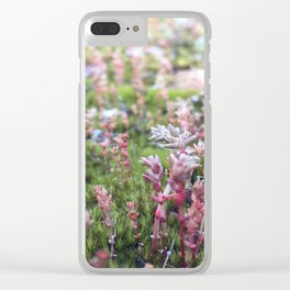Soft Moss Clear iPhone Case