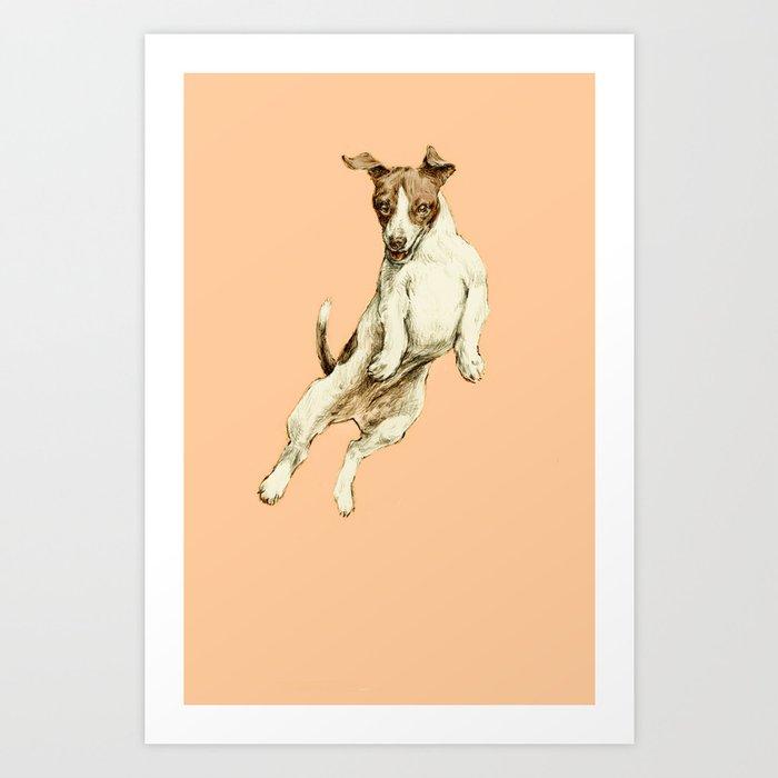 Jack Russell Art Print