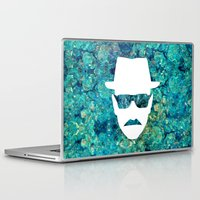 walter white Laptop & iPad Skins featuring Walter White by Lauren Miller