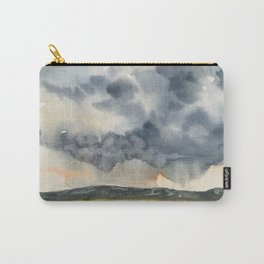 Deluge Watercolor Painting by Jeani Eismont Carry-All Pouch