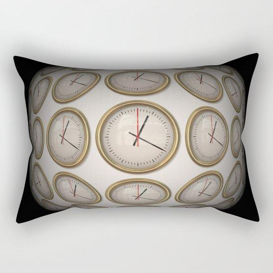 Time Time Time Rectangular Pillow