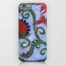 Floral Batik Slim Case iPhone 6s