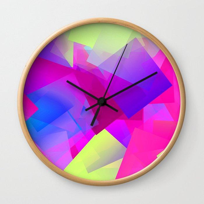 Moodier April ... Wall Clock