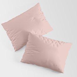 Solid Color Rose Gold Pink Kissenbezug