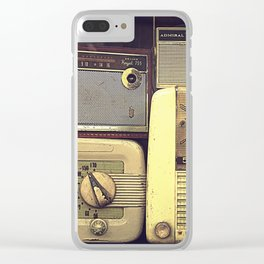 Radio Deluxe Clear iPhone Case