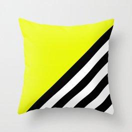 Sunshine Zebra Throw Pillow