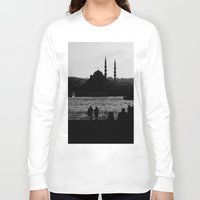 istanbul Long Sleeve T-shirts featuring Istanbul by habish