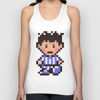 earthbound Tank Tops featuring Ness (Pajamas) - Earthbound / Mother 2 by Studio Momo╰༼ ಠ益ಠ ༽