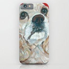 Lola the Cocker Spaniel iPhone Case