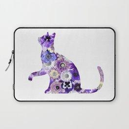 The Flowers Cat Laptop Sleeve