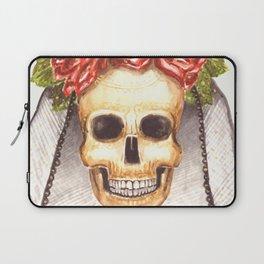 Watercolor Catrina Laptop Sleeve