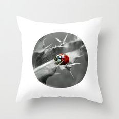 ladybug I Throw Pillow
