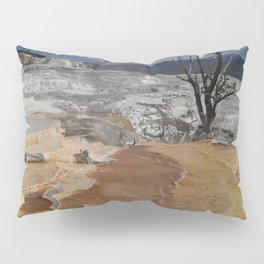 A Surreal Landcape With Dead Tree Pillow Sham