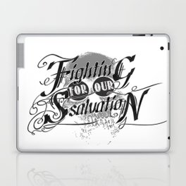 Figthing For Our Salvation Laptop & iPad Skin