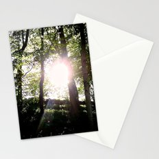 the four of us stand Stationery Cards
