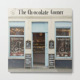The Chocolate Corner Metal Print