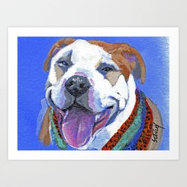 It's Da Pits (Pitbull 1) Art Print