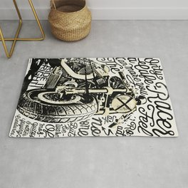 Feel the Road with a Cafe Racer 2 Rug
