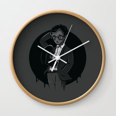 Woody Alien Wall Clock