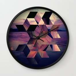 Remnants of the Day Wall Clock