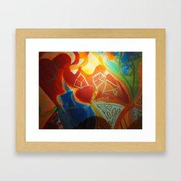 Change and Balance Framed Art Print