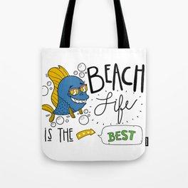 Beach Life T-Shirt Tote Bag