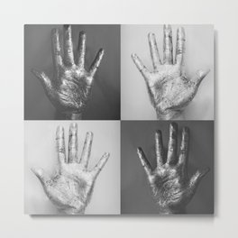 Ten Fingers Metal Print