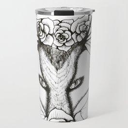 Roses and Wings Travel Mug