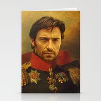 replaceface Stationery Cards featuring Hugh Jackman - replaceface by replaceface
