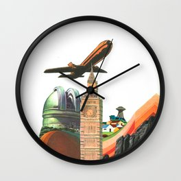 Leaving MoMo City Wall Clock