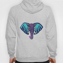 Neon Elephant Hoody