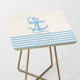 AFE Baby Blue Anchor & Chain Side Table