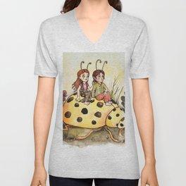 Ladybug Friends Unisex V-Neck