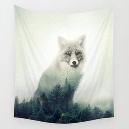 Fox, Forest Animal, Woodlands, Wilderness Wall Tapestry