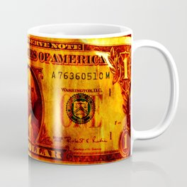 Four Dollars Coffee Mug