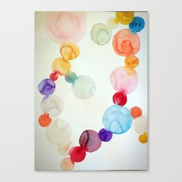 Delicate Worlds  Canvas Print