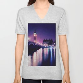 Streets of London Unisex V-Neck